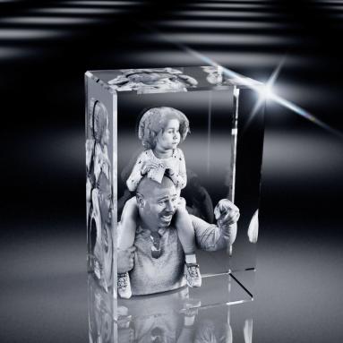 3D Crystal Rectangle Tall