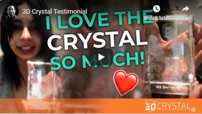 """I love the CRYSTAL so much!"""