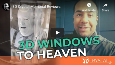 """It's like a window allowing us to peak into heaven"""