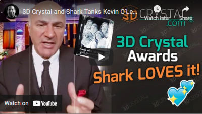 Shark Kevin O'Leary weighs in on 3DCrystal.com