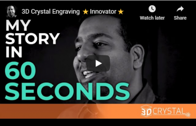 3D Crystal Engraving ⭐Innovator⭐