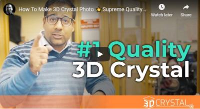 How To Make 3D Crystal Photo ⭐Supreme Quality⭐