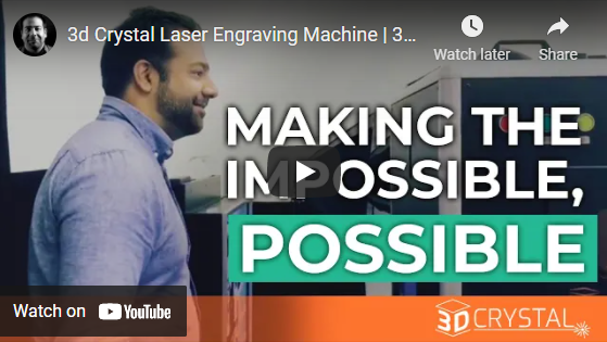 3d Crystal Laser Engraving Machine