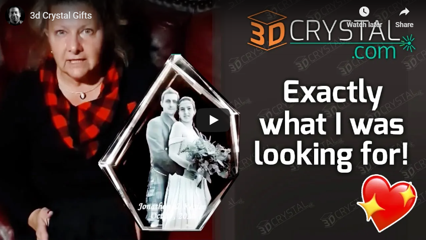 """""""I am so excited! A little story on why I choose 3DCrystal.com"""""""