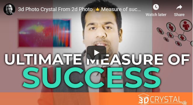3d Photo Crystal From 2d Photo ⭐Measure of success⭐