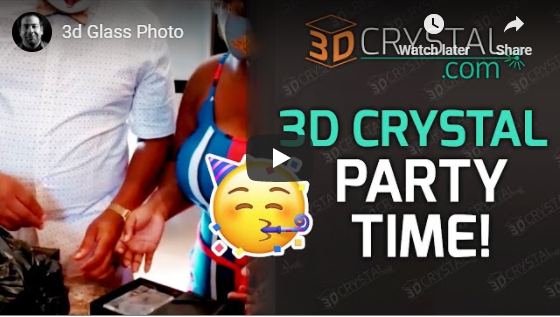 3D Crystal unboxing video that will touch your heart